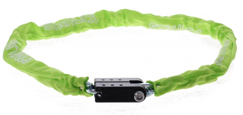 Stahlex Kettingslot met nylon hoes 1200 x 5,5 mm groen