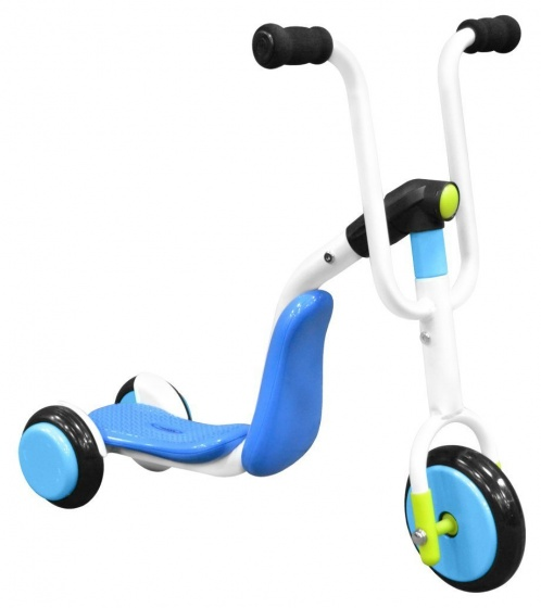 Stamp 2 in 1 Tri scooter Junior Blauw