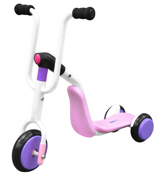 Stamp 2 in 1 Tri scooter step Meisjes Roze/Paars