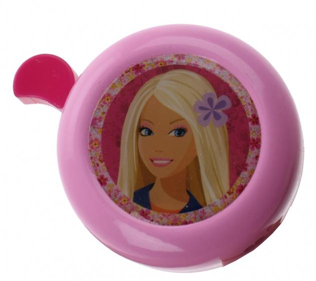 Stamp fietsbel Barbie 54 mm roze