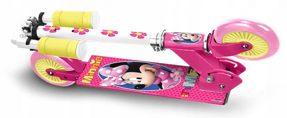 Stamp Kinderstep Minnie Mouse Meisjes Voetrem Roze/Wit