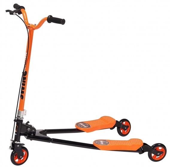 Stamp Swing space scooter Junior Oranje/Zwart