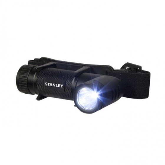 Stanley hoofdlamp led met hoofdband 280 lumen zwart