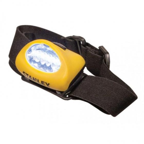 Stanley hoofdlampen led met hoofdband geel 2 stuks