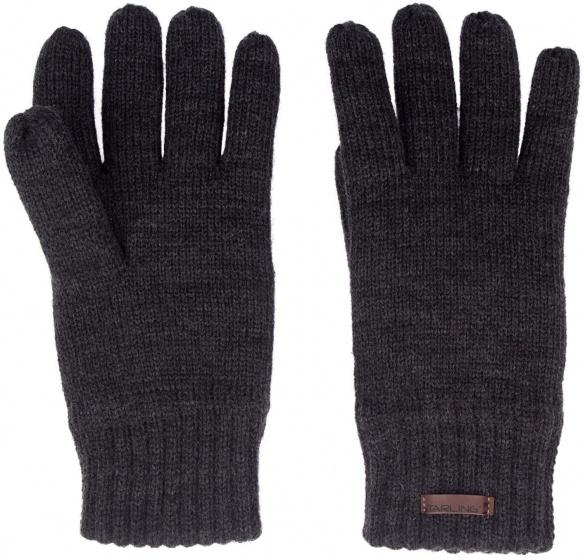 pretty nice 1c9dd 40138 gefütterte Handschuhe gestrickt schwarz