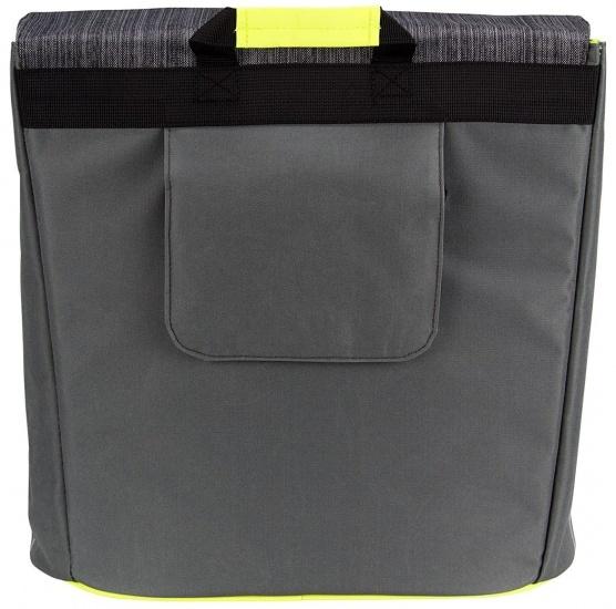 Starling shopper 23 liter antraciet/lime