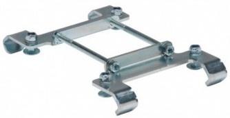 Steco adapterplaat voor opdrager e bike zilver