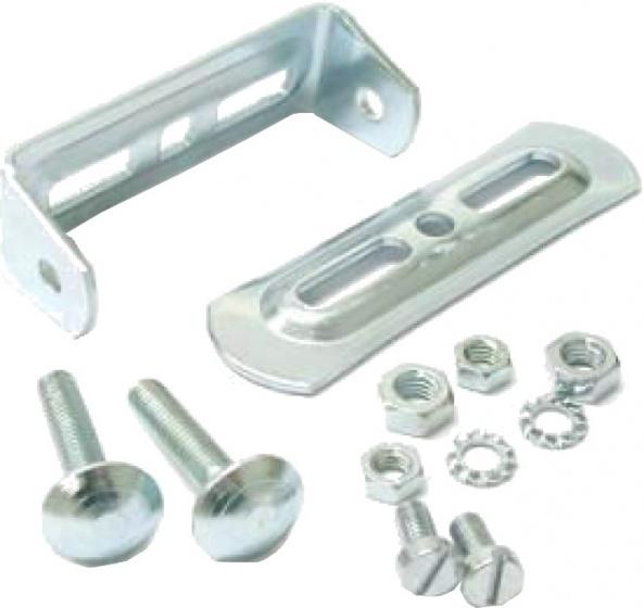 Steco universeel bagagedrager montuur staal zilver