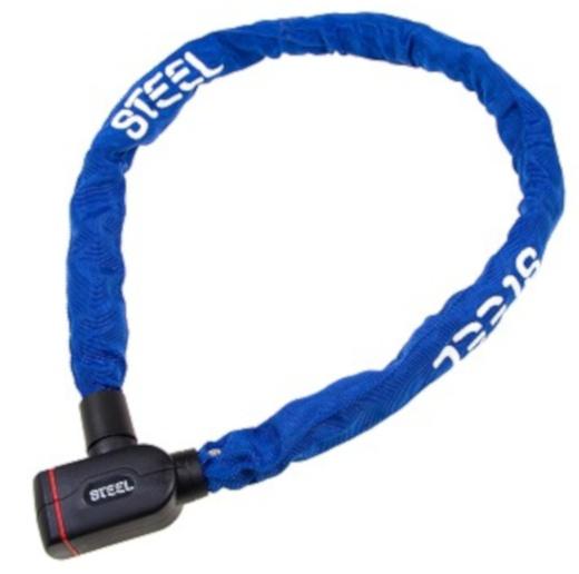 Steel kettingslot Heavy Duty 1100 x 8 mm donkerblauw