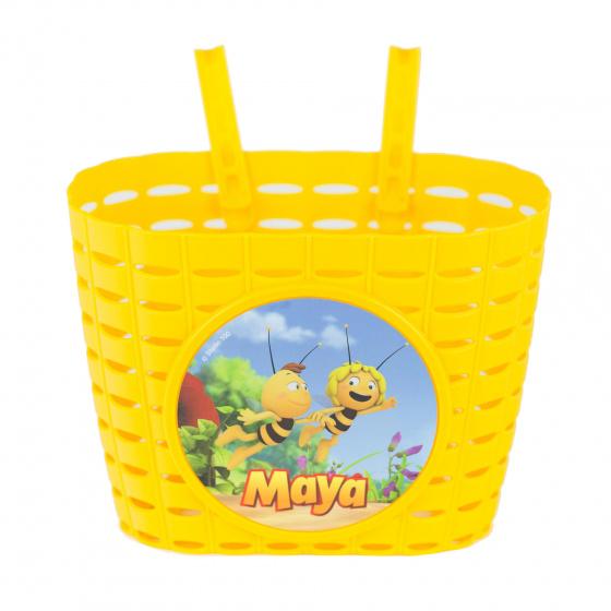 Studio 100 kinderfietsmand Maya de Bij junior 20 cm geel
