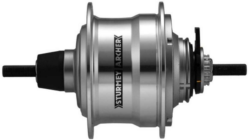 Sturmey Archer Achternaaf RX RF5 5V Freewheel met twist shifter