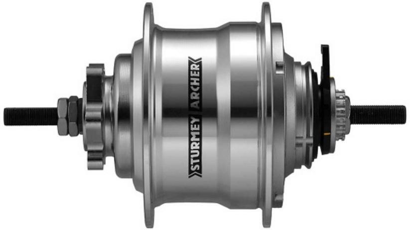 Sturmey Archer Achternaaf RX RK5 5V schijfrem met twist shifter