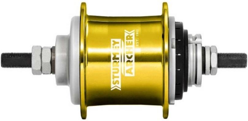 Sturmey Archer Achternaaf S2 Duomatic 2V AM BX 32 gaats goud