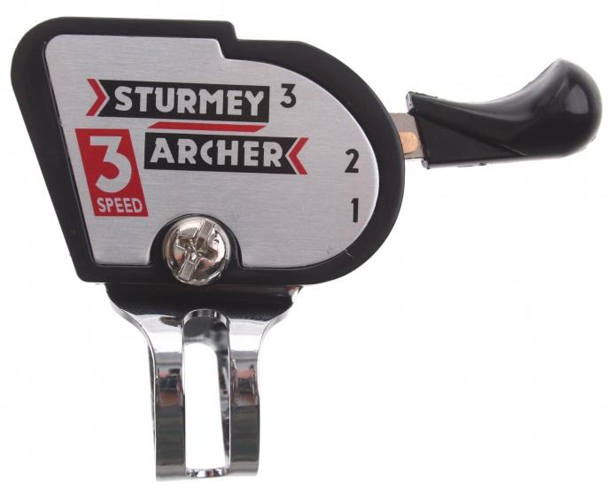 Sturmey Archer stuurversteller 3SP zwart