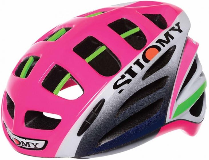 Suomy fietshelm Gun Wind Special dames roze maat 59 62 cm