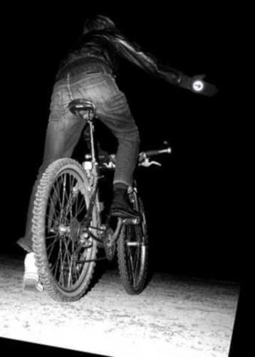 Suck UK fietshandschoenen reflecterend polyester zwart one size
