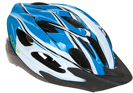 Summit Pursuit Fiets Helm unisex maat 54/58 cm blauw