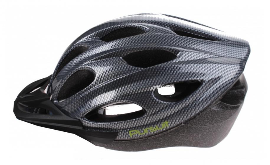 Summit Pursuit Fiets Helm unisex maat 58 62 cm grijs