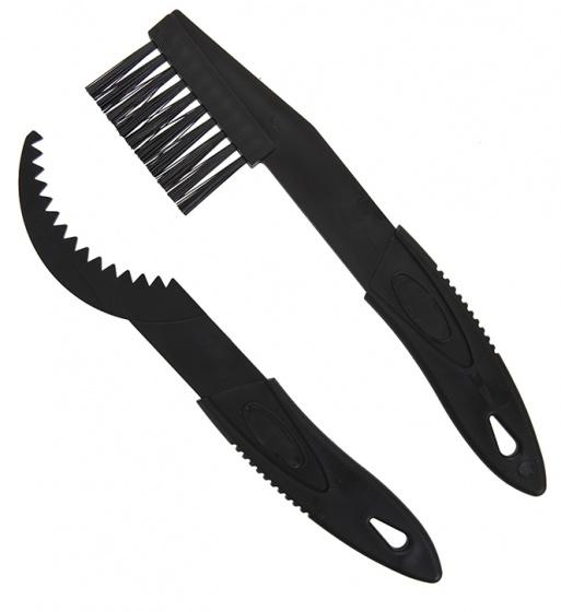 Summit reinigingsborstels Pursuit Cross 22 cm zwart