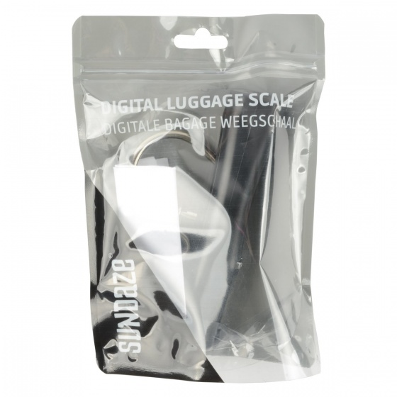 Sundaze digitale kofferweegschaal zwart