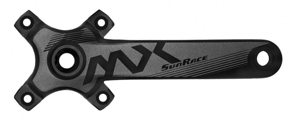 Korting Sunrace Crankset Fcmx00 175 Mm 10 12s Zwart 2 delig