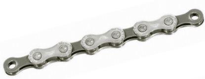 Sunrace Ketting 1/2 3/32 inch CN10A 10SP 116 schakels zilver/grijs