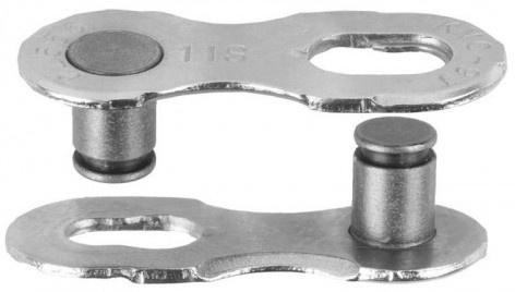 Sunrace kettingschakel 1/2 x 1/8 staal 12S zilver 10 stuks