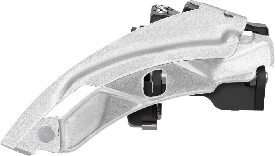 SunRace voorderailleur FDM300 3 x 7/8 speed zilver