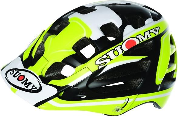Suomy helm Scrambler Desert unisex matgeel/wit/zwart mt 52 58 cm