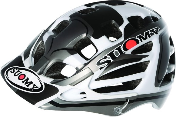 Suomy helm Scrambler Desert unisex matzwart/zilver mt 59 62 cm