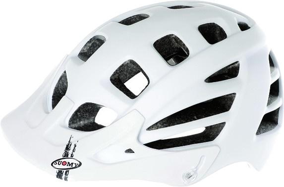 Suomy helm Scrambler Mono unisex matwit maat 52 58 cm