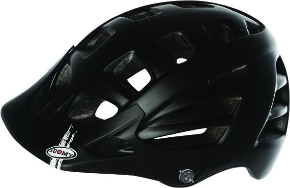 Suomy helm Scrambler Mono unisex matzwart maat 52 58 cm