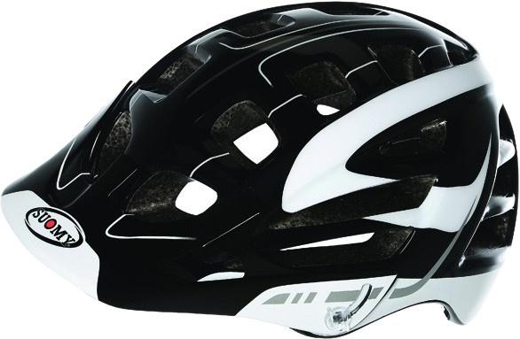 Suomy helm Scrambler S Line unisex zwart/wit maat 52 58 cm