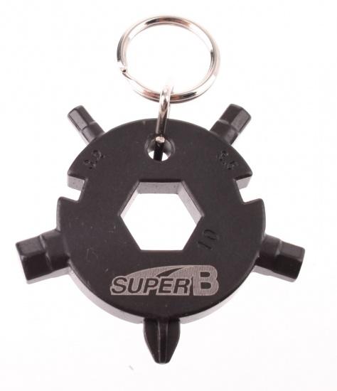 Super B Mini Gereedschap sleutelhanger TB FD08 BK