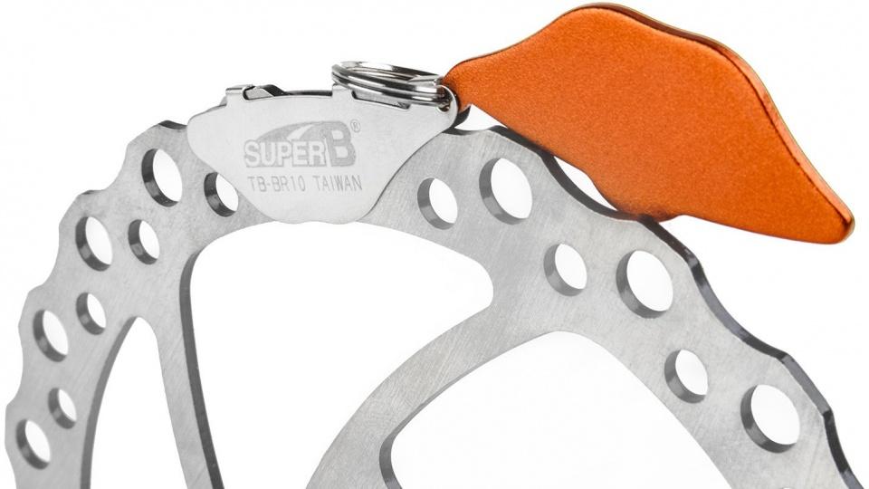 Super B remverstelgereedschap schijfrem TB BR10 oranje/zilver