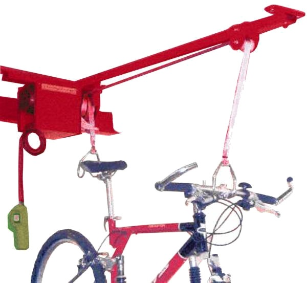 Superspark fietslift 200 kg rood