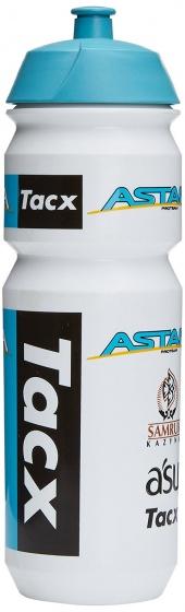 Tacx bidon Astana wit/blauw 750 ml
