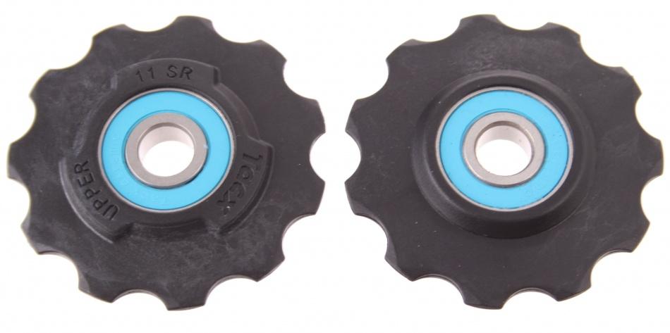 Tacx Derailleurwieltjes T4040 11 speed zwart