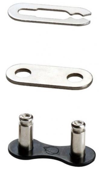 Taya kettingschakel Sigma Pro 1/2 x 1/8 inch staal zwart 2 stuks