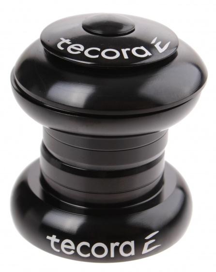 Tecora balhoofdstel ahead 1 1/8 inch zwart