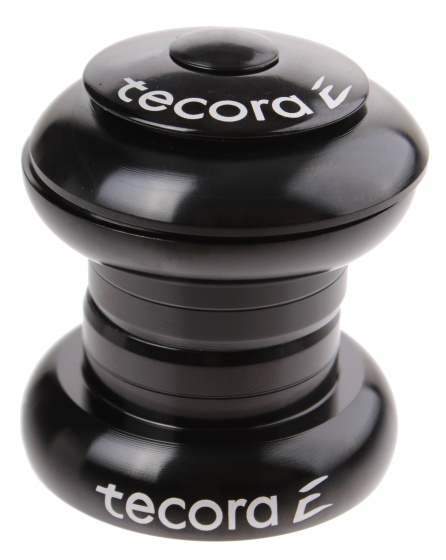 Tecora balhoofdstel ahead 1 inch zwart