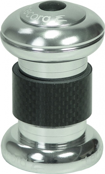 Tecora balhoofdstel EC30/26 Ahead 1 inch aluminium zilver