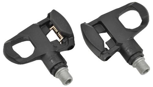 Tecora klikpedalen set look 9/16 inch zwart
