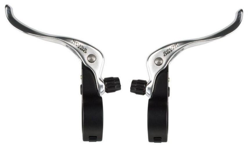 Tektro remgrepen set RL726 cantilever 2 vinger zilver/zwart