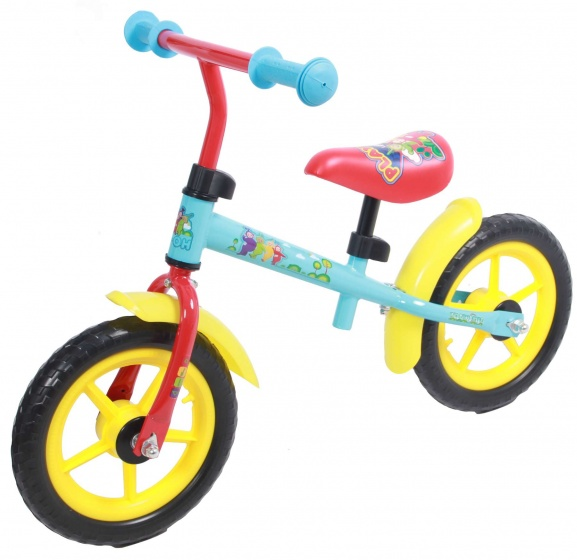 Teletubbies loopfiets 12 Inch Junior Multicolor