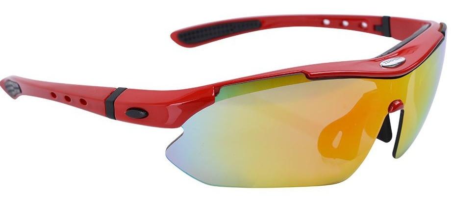Tempish sportbril Contra unisex rood one size