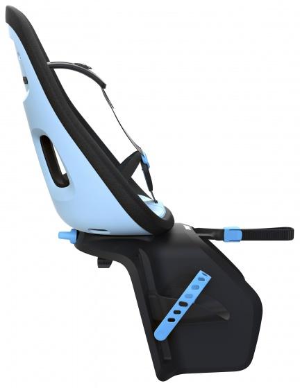 Yepp fietszitje achter Nexxt Maxi Aquamarine lichtblauw/zwart