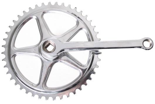 Thun crankstel set 32T 110 mm zilver