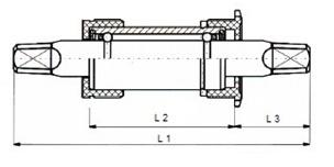 Thun Trapas JIS 119 / 30 mm