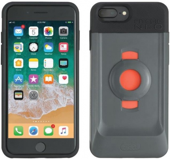 Tigra Sport fietshouder met hoes FitClic Neo Forward iPhone 6/6S/7/8 (Plus)